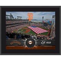 """San Francisco Giants Fanatics Authentic 10.5"""" x 13"""" Sublimated Team Plaque - No Size"""