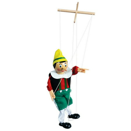 The Original Toy PINN Pinocchio Marionette, 15-Inch, Pinocchio Marionette measures approx. 15