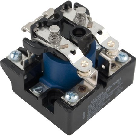 Deltrol 610056 30A 115 VDC Coil PRD Style DPST Relay ()