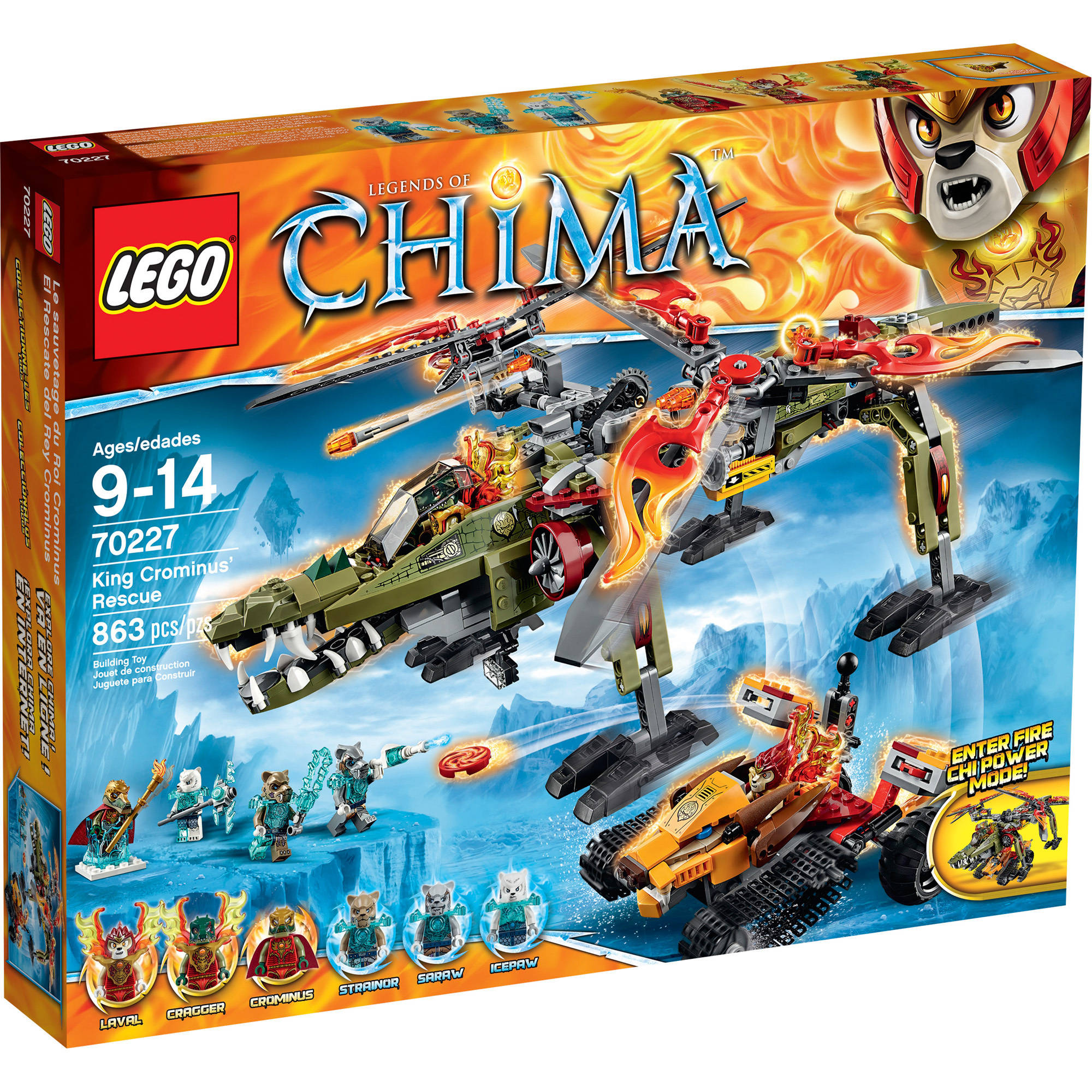 LEGO Chima King Crominus' Rescue, 70227