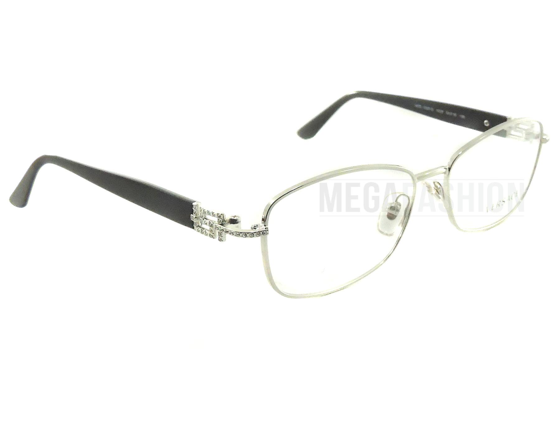 63a4c19a8f3cd Authentic Versace Eyeglasses VE1226B 1000 Silver Black Frames 52mm Rx-ABLE
