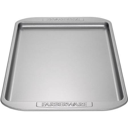 Farberware Nonstick Bakeware 10-Inch x 15-Inch Cookie Pan, Gray