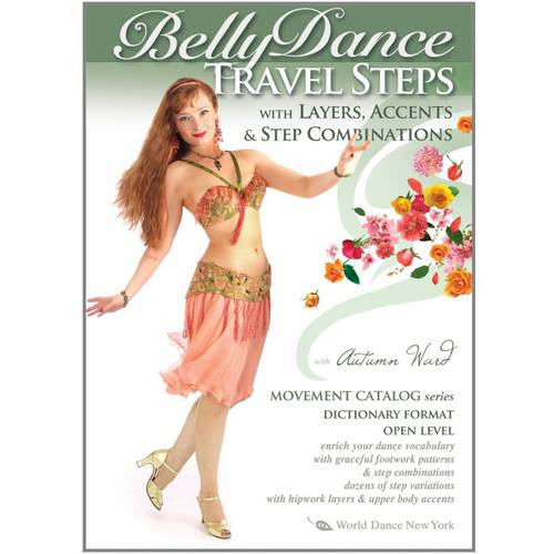 Belly Dance Travel Steps With Layers, Accents And Step Combinations by Stratostream