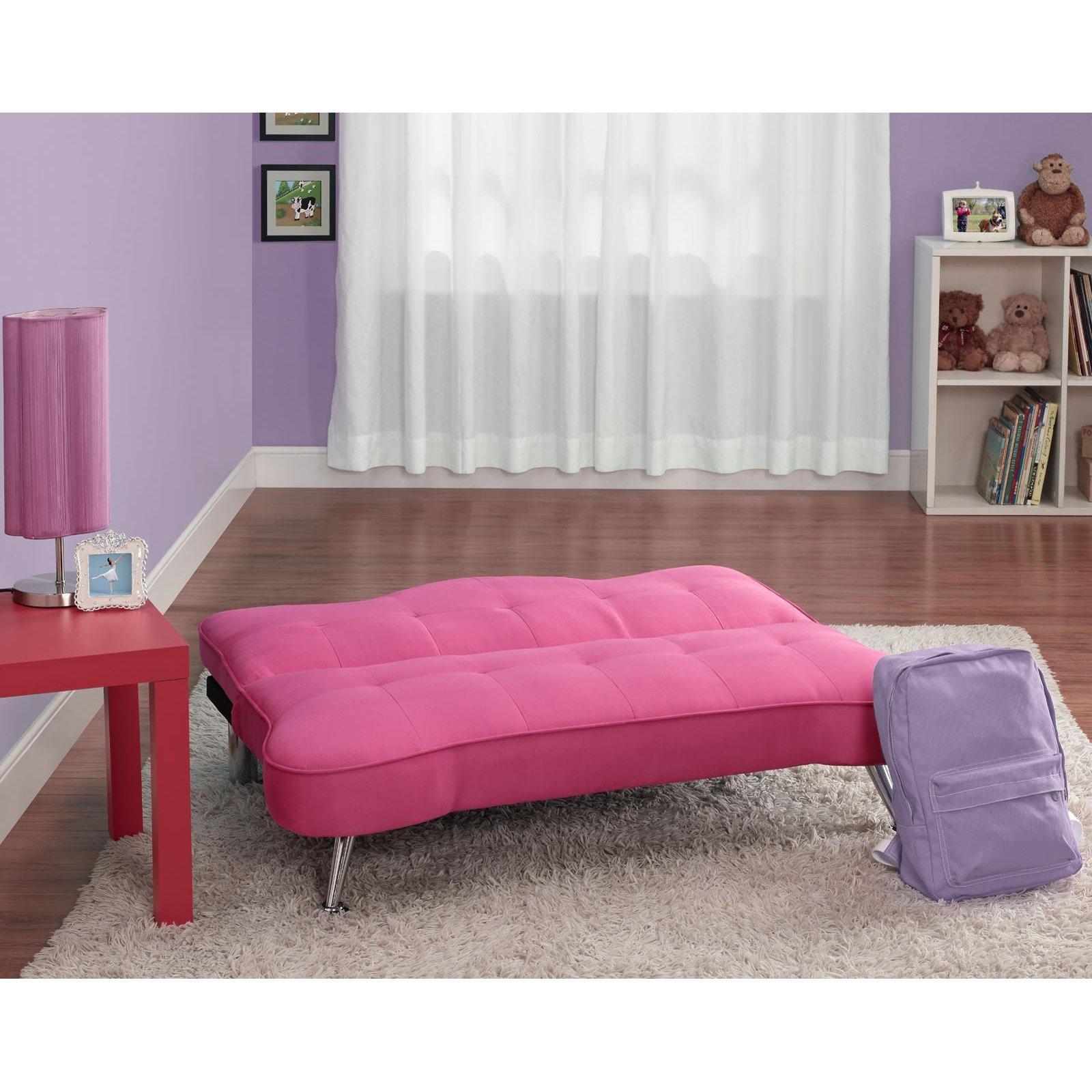 DHP Rose Junior Sofa Lounger Racy Pink Walmart
