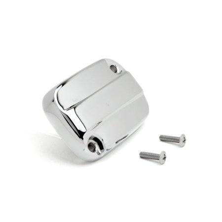 Krator Front Brake Fluid Cap Chrome Billet Reservoir Cap For 2007-2008 Harley Davidson Electra - Billet Brake Fluid Cap