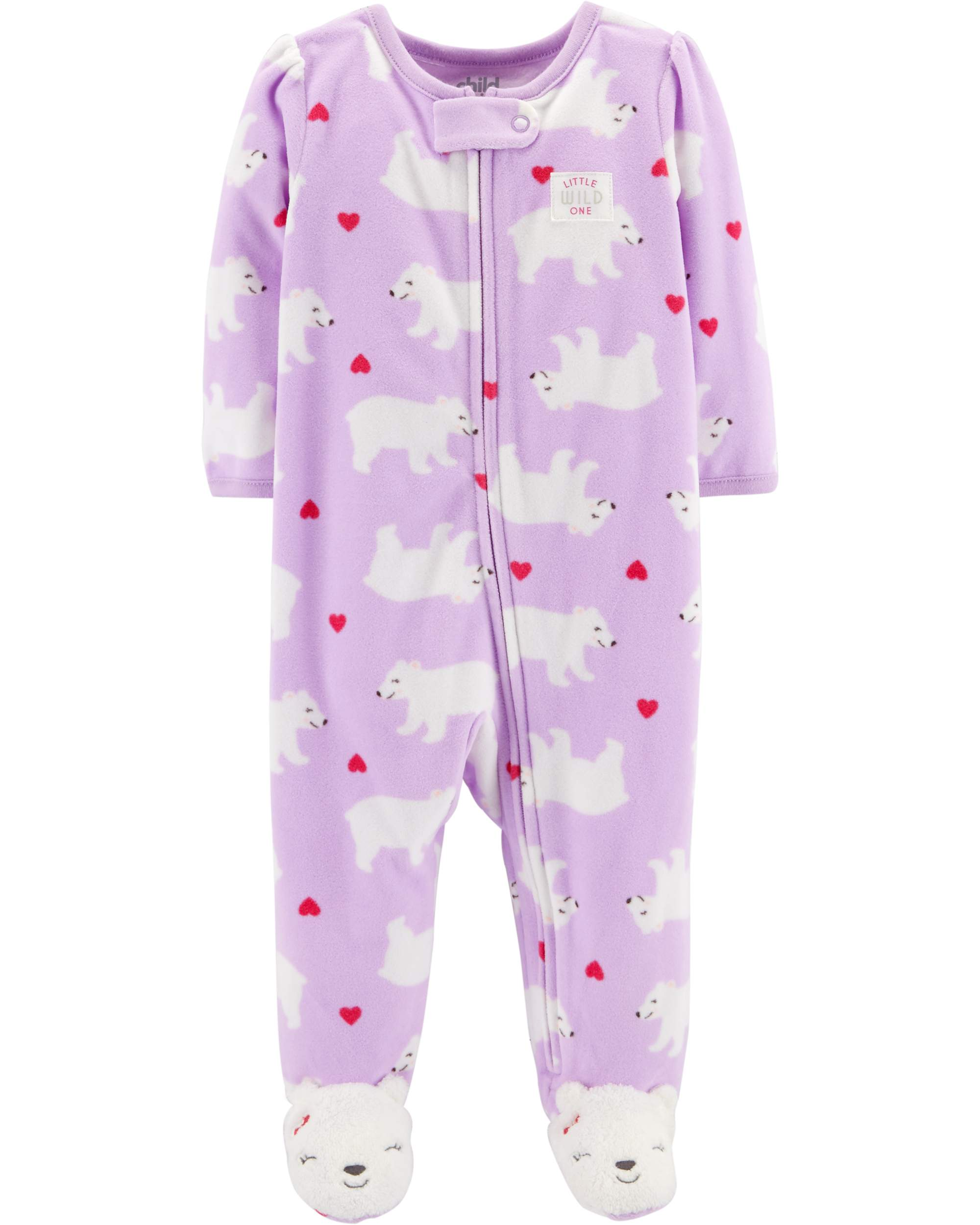 Child of Mine by Carter's Sleep N' Play Pajamas (Baby Girls)