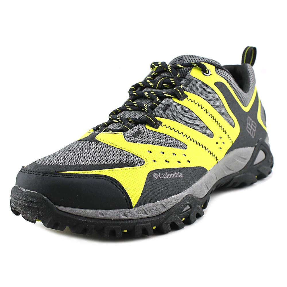 Columbia Peakfreak Xcrsn Xcel Men  Round Toe Synthetic Green Hiking Shoe