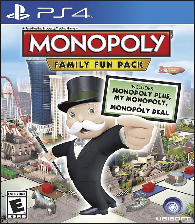 Monopoly Family Fun Pack Playstation 4 by Ubisoft Entertainment SA