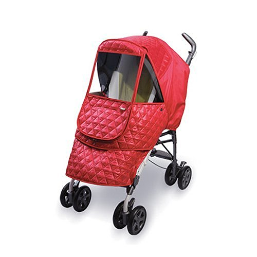 Manito Castle Alpha Stroller Weather Shield (Red)