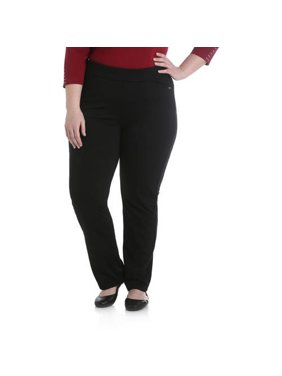 Chic Women's Plus Ponte Knit Pull On Pant