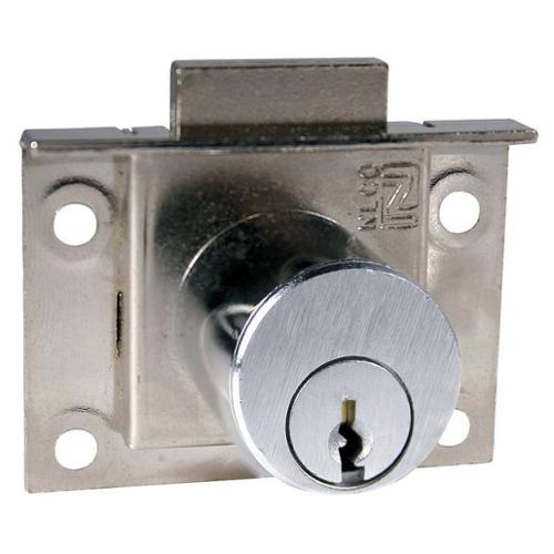 COMPX NATIONAL C8133-KD-26D Half-mortised, pin tumber dead bolt lock