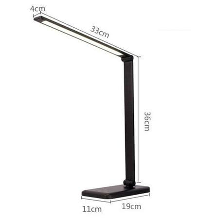 Lighting Modes Reading Study Desk Light, Folding Desk Lamp Dimmable
