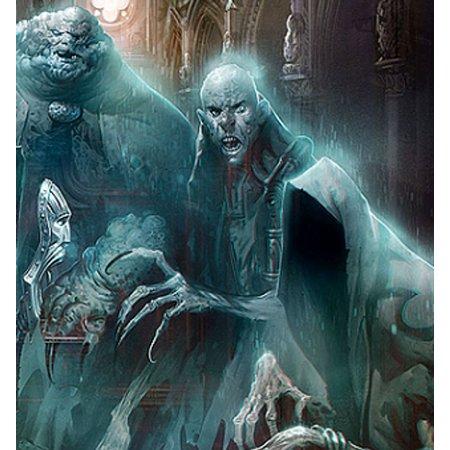 RUINES ET FANTOMES - eBook - Coloriage Halloween Fantome