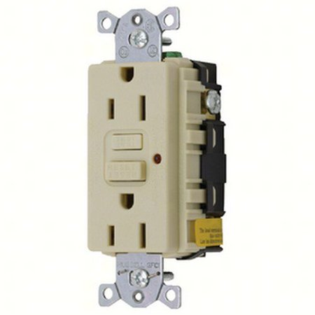 HUBB GROUND FAULT RECEPTACLE