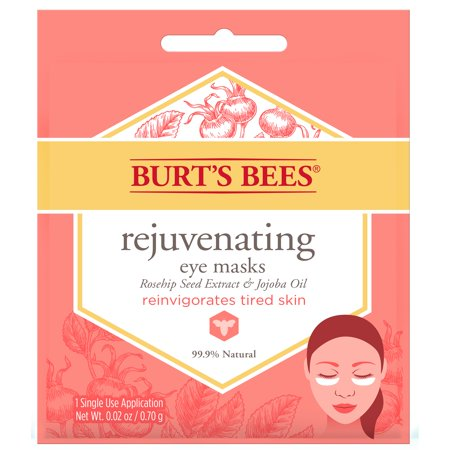 (4 masks) Burt's Bees Rejuvenating Eye Mask, Single