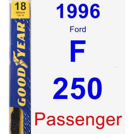 1996 Ford F-250 Bed - 1996 Ford F-250 Passenger Wiper Blade - Premium