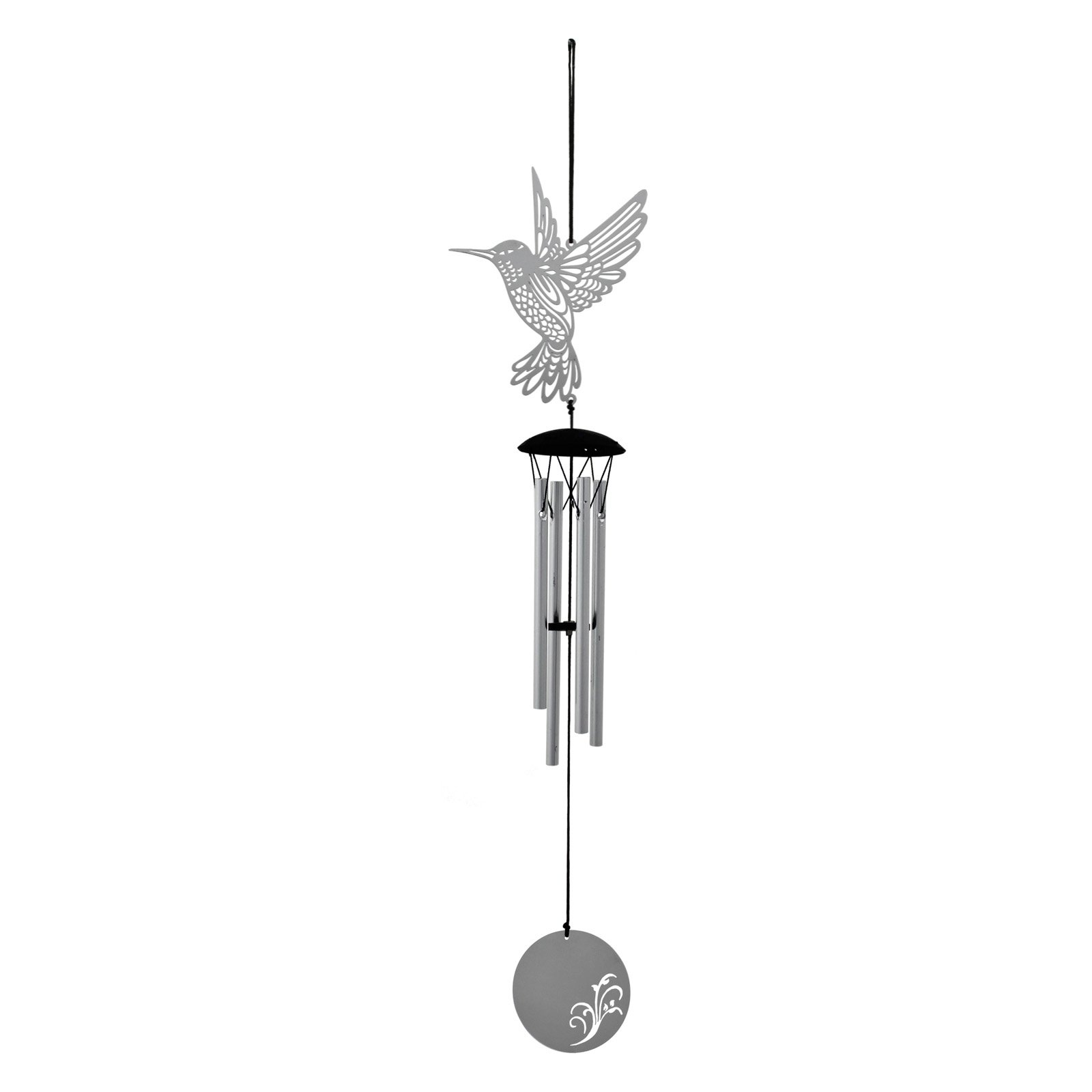Woodstock Flourish Metal Hummingbird Wind Chime by Woodstock Chimes