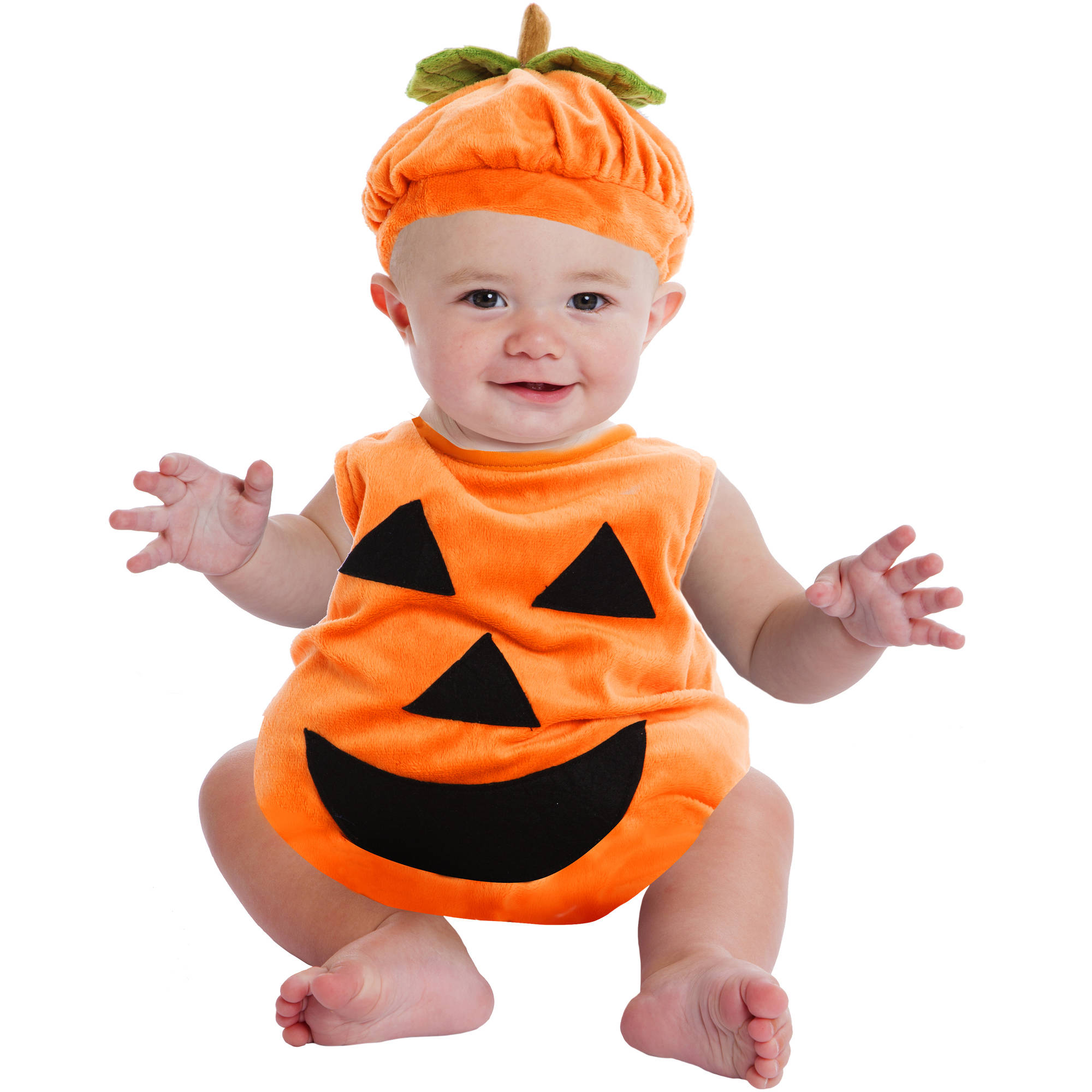 pumpkin bubble infant halloween costume walmartcom - Walmart Halloween Costumes For Baby