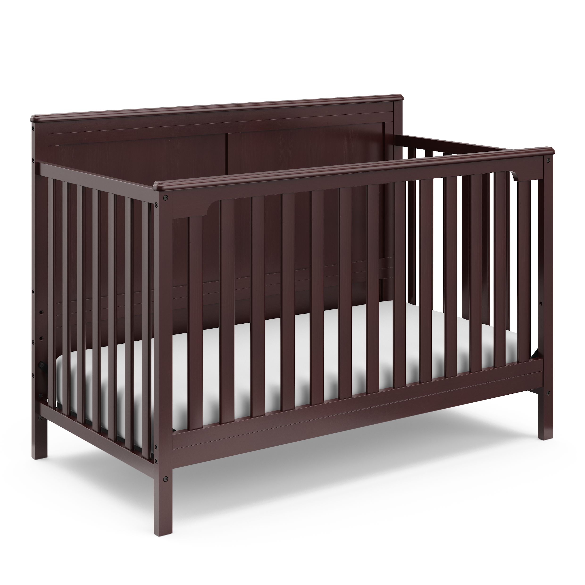 Storkcraft Alpine 4-in-1 Convertible Crib Espresso