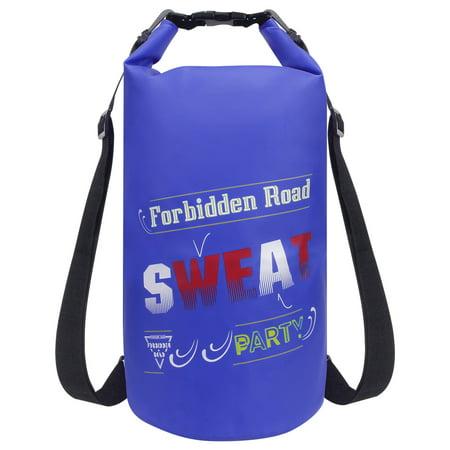 Forbidden Road Waterproof Dry Bag Sack Bag 15L Dark Blue