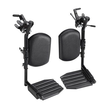 (Invacare T94HCP T94HC Elevating Leg Rest with Composite Footplates and Padded Calf Pads)