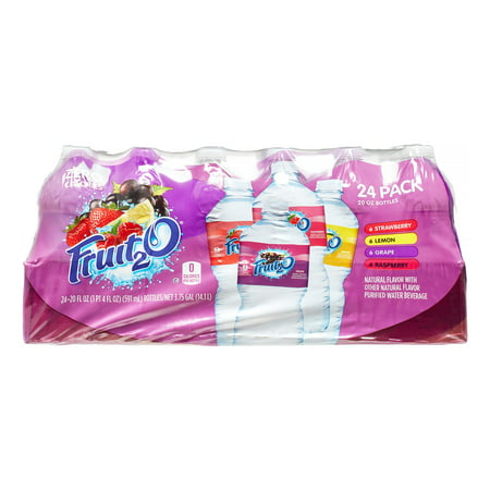 - Fruit2O Beverages, Mixed Variety Pack, 20 Fl Oz (Case of 24)