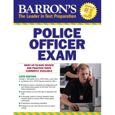 Barron's Police Officer Exam - Gift Ideas For Police Officers