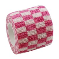 KABOER 1 Pc Waterproof Self Adhesive Elastic Bandage Printed Lattice Bandage Finger Joint Wrap Therapy Bandage Care Supplies Home First Aid Supplies For Wound Emergency Treatment