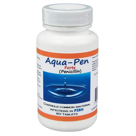 Aqua pen forte fish penicillin 500mg 60 tablets for Fish pen forte