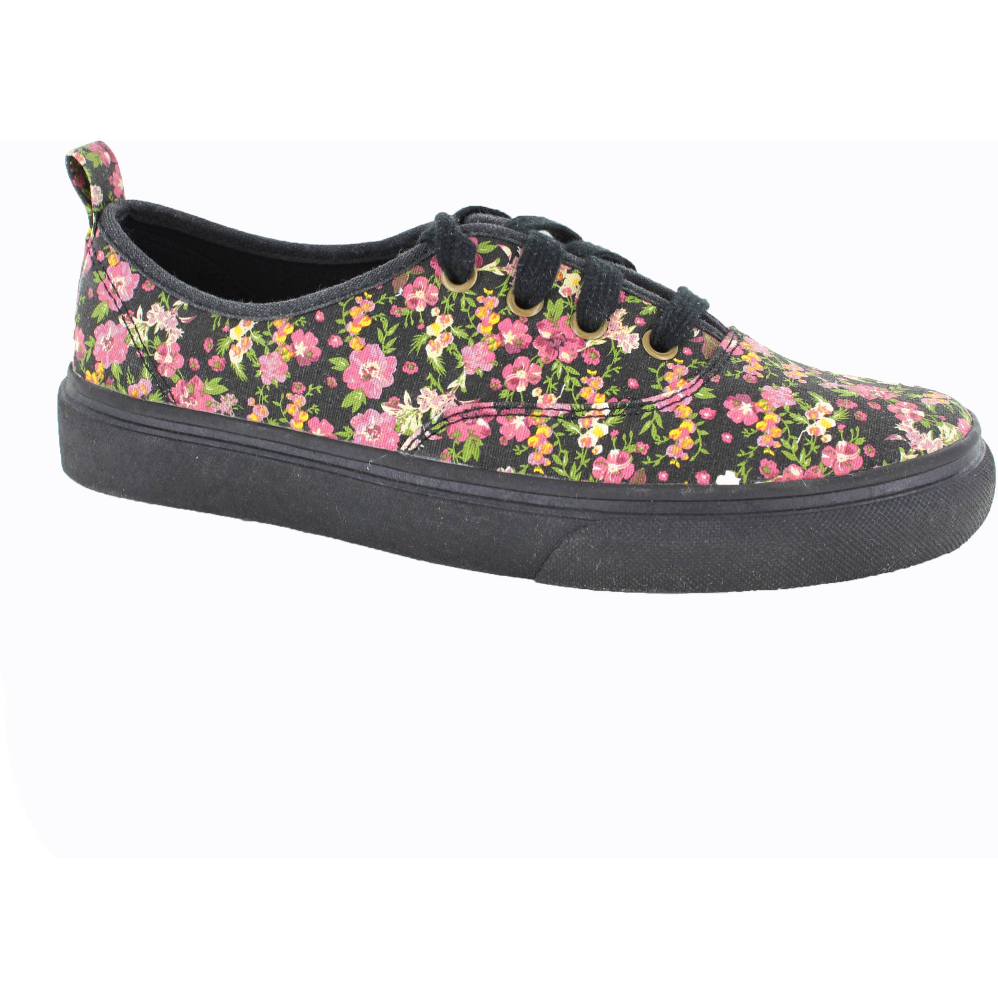 Faded Glory Women's Printed Canvas Sneaker