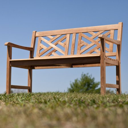 Southern Enterprise Lorance Teak Bench