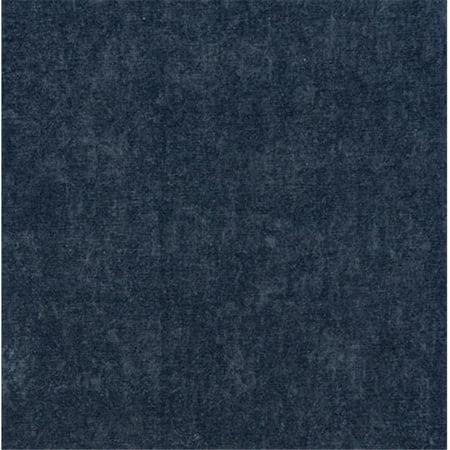 Designer Fabrics E154 54 In Wide Dark Blue Smooth Polyester Velvet Upholstery Fabric