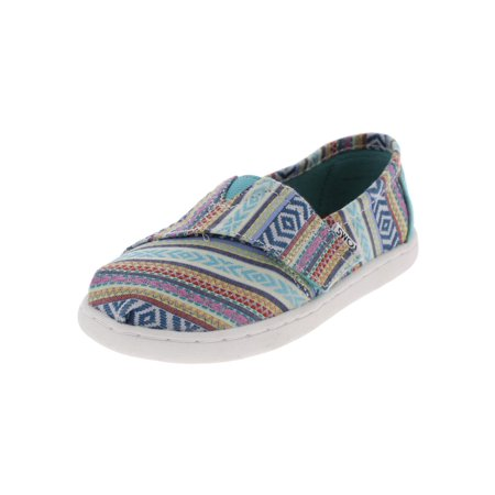 Toms Girls Classic Tribal Low Top Casual Shoes