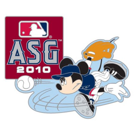 2010 MLB All-Star Game / Disney's Mickey Mouse Pitcher Pin for $<!---->