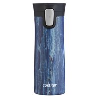 Contigo 14 oz Couture Pinnacle Vacuum-Insulated Autoseal Travel Mug, Blue Slate