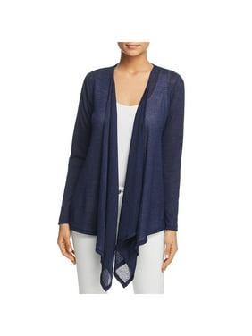 f4e0c01584ca Product Image MICHAEL Michael Kors Womens Asymmetric Sheer Cardigan Sweater