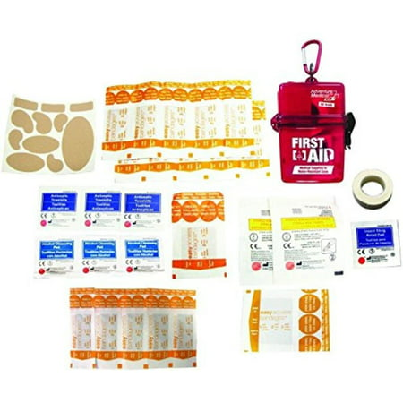 Adventure First Aid, Water-Resistant First Aid Kit, 0.18 Pound, Water-resistant case keeps contents safe and dry from the elements. By Adventure Medical