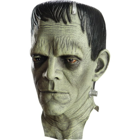 Universal Monsters Frankenstein Overhead Vinyl Mask Halloween Costume - Monster Mash Halloween Party