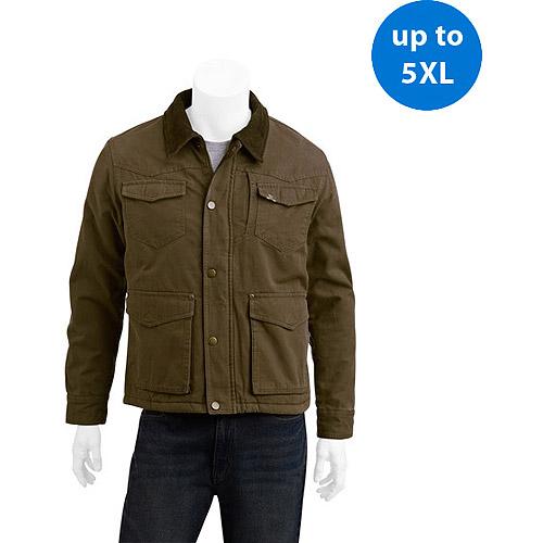 Wrangler Big Men's Canvas Jacket 2xl