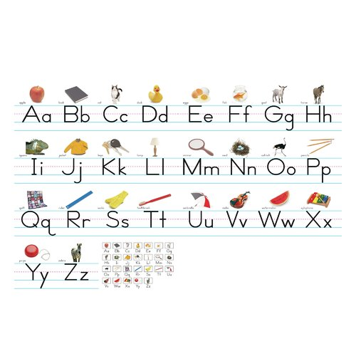 Northstar Teacher Resource Alphabet Lines Traditional Bulletin Board Cut Out