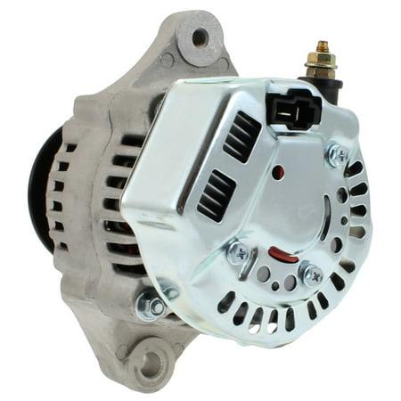 NEW 16 Volt Mini Alternator for Race cars 75Amp 1 wire Hookup! 16V