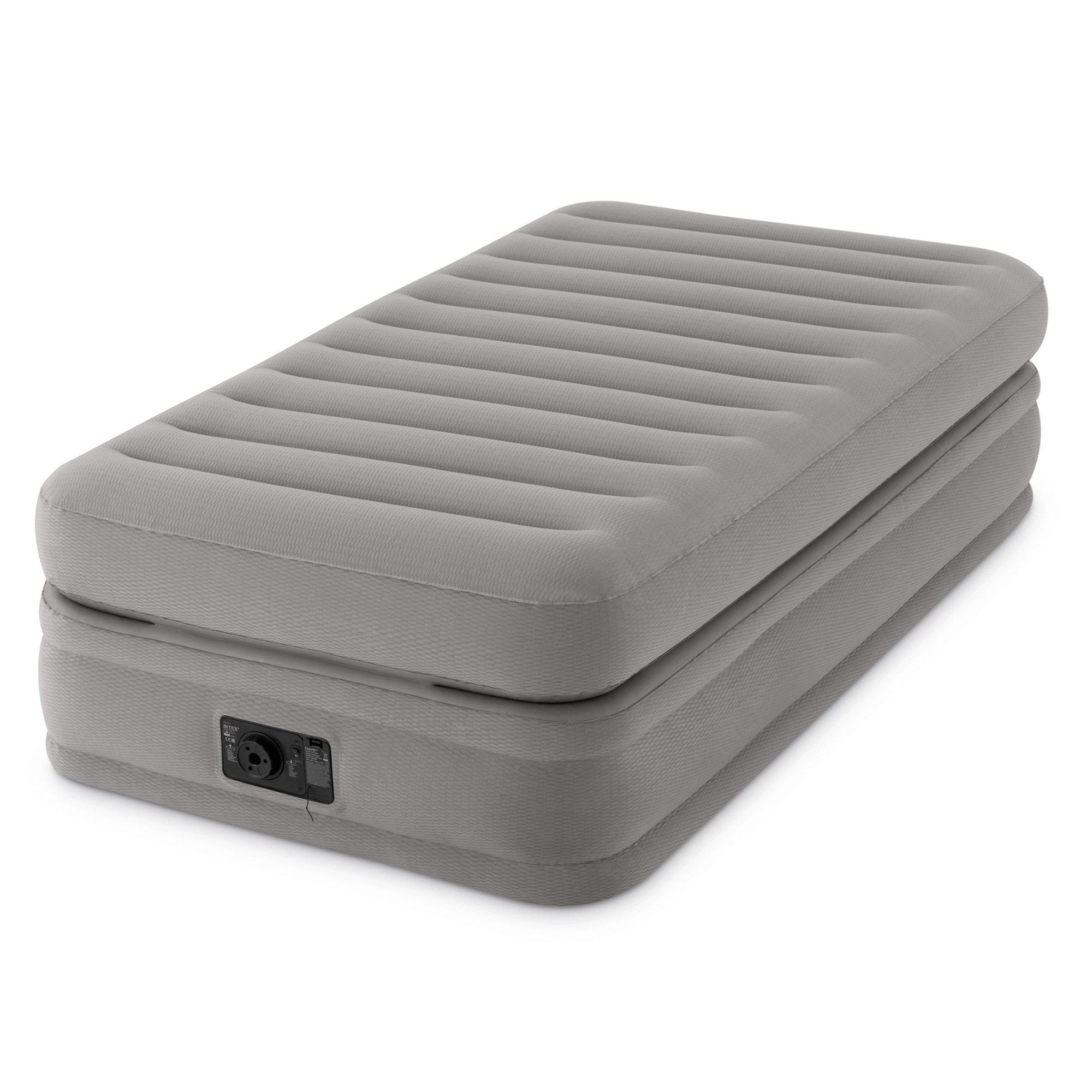 "Intex Twin 20"" Prime Comfort Elevated Airbed Mattress with Built-in Pump"