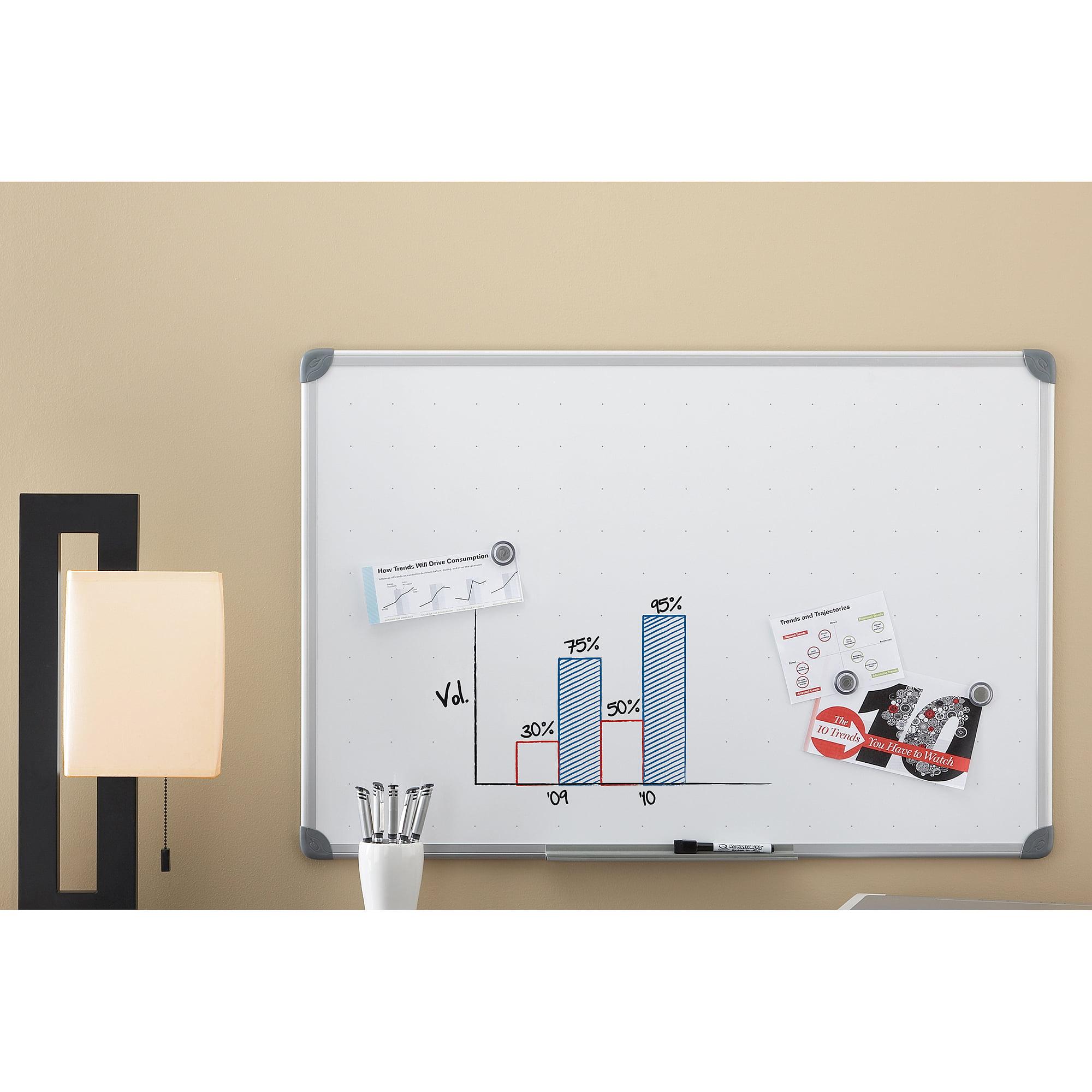 Quartet Magnetic Dry-Erase Board, 2' x 3', Euro Style Frame