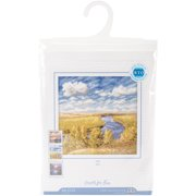 "Day Counted Cross Stitch Kit-6""X6"" 18 Count"