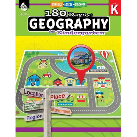 180 Days of Geography for Kindergarten (Grade K) : Practice, Assess, Diagnose](Kindergarten Art Ideas For Halloween)