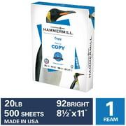 Hammermill Printer Paper, Copy, 20lb, 92 Bright, 8.5x11, 1 Ream