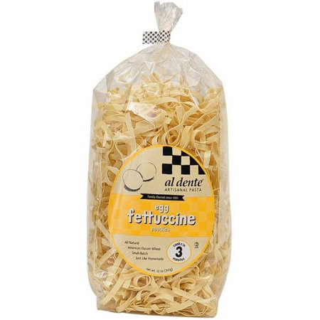 Image of Al Dente Egg Fettuccine Pasta, 12 oz (Pack of 6)