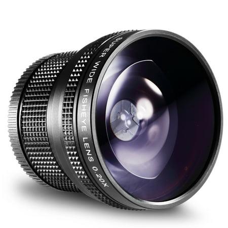 Neewer 52MM 0.20X High Definition AF Fisheye Lens