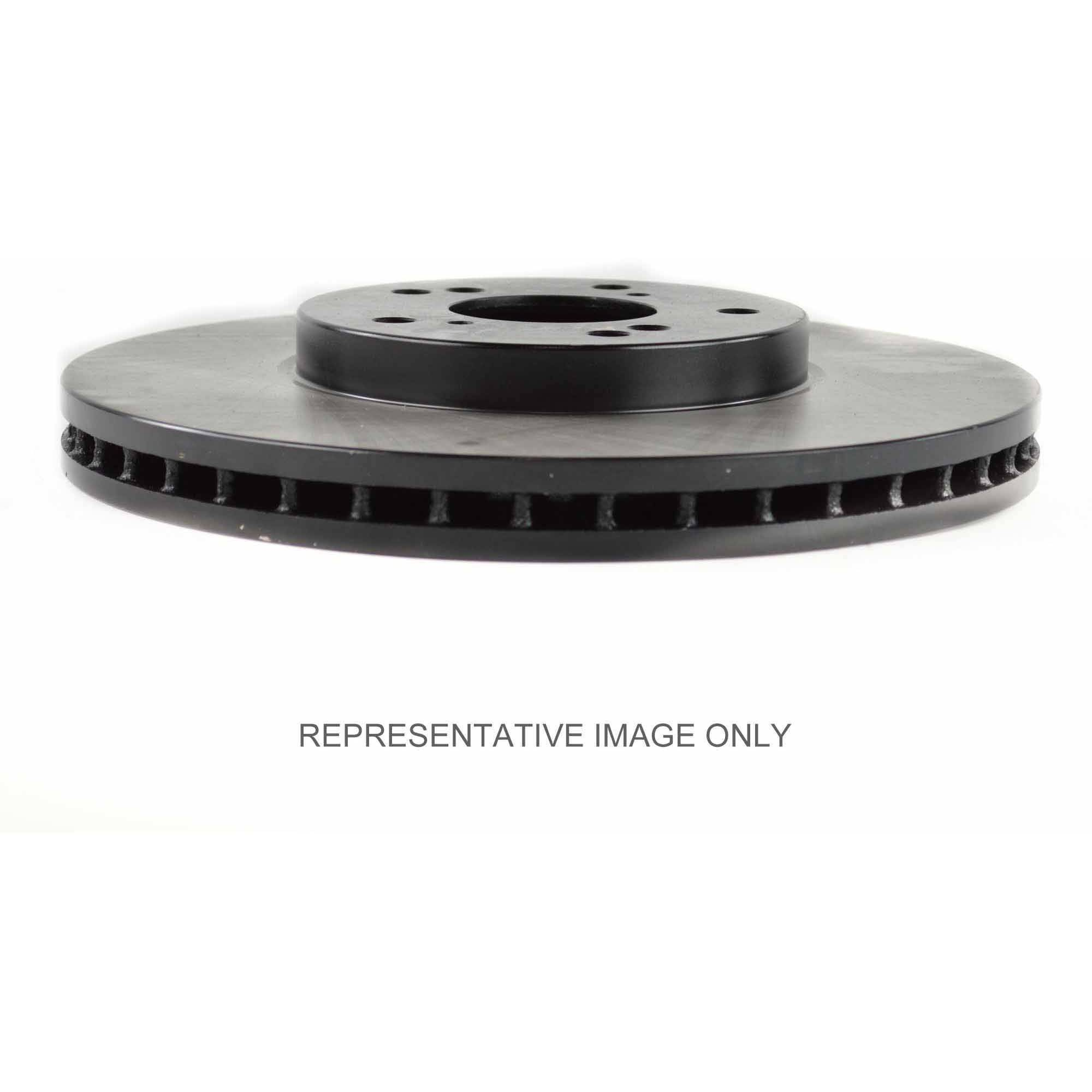 Centric Parts 120.40065 Premium Brake Rotor with E-Coating
