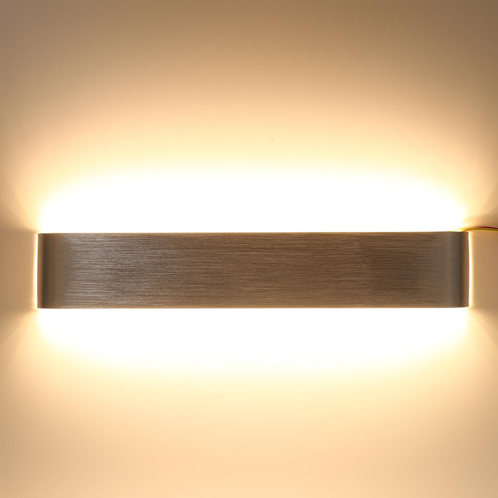 Ashata Minimalist Lamp,Wall Lamp,Creative Modern Minimalist Aluminum 12W 18W LED Wall Lamp Bedside Hallway Bathroom... by